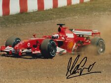Marc Gene mano firmado 8x6 Foto-F1 Ferrari autógrafo 1.
