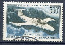 STAMP / TIMBRE FRANCE OBLITERE POSTE AERIENNE N° 35 MORANE SAULNIER 760 PARIS