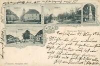 Ansichtskarte Renchen 1902 Hauptstraße   (Nr. 848)