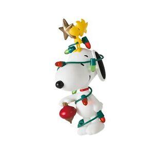 Hallmark Keepsake Christmas Ornament 2021, Peanuts Spotlight on Snoopy All De...