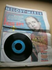 "MELODY MAKER February 15th 1986 + free 7"" single Marc Almond Simple Minds"
