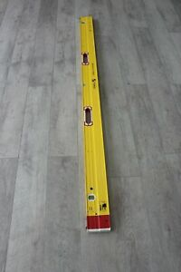 Stabila PLATE LEVEL (with removable stand-offs) 6'-10' 35610