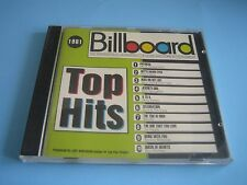 CD Top Hits 1981 Billboard***Hall & Oats, Dolly Parton, Blondie, Air Supply***