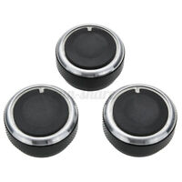 3x A/C Heater Switch Knob Climate Control Button for Toyota Tacoma Vios 02-2014