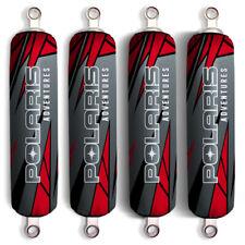 Red Black Polaris Adventure Shock Covers Sportsman XP Touring 550 850 EPS(Set 4)