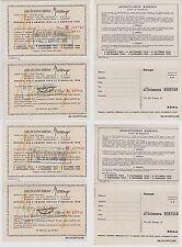 # PUBBLICITARIA: ARCICINCORSO MARENGO 1954-55 a ROMA / S. REMO-2 cart. doppie..