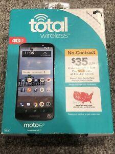 ✅ Total Wireless Prepaid Motorola E5 (16GB) - Dark Gray [ See Description]⭐ C5