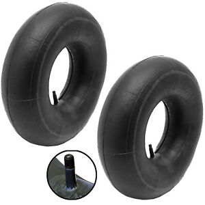 2 x Inner Tube Ride On Lawnmower Tyre Schrader Valve 15x600 15x6.00-6 15 x 6