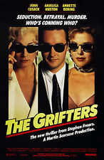 THE GRIFTERS (1990) ORIGINAL MOVIE POSTER  -  ROLLED