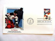 "January 6th, 1984 ""Ice Hockey"" 1st Day Cover"