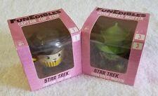 Star Trek FUNEDIBLES Set Lot 2 Captain Cup Kirk Corn Bread Muffin Vinyl Figure