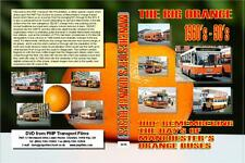 3414. When Manchester Buses were Orange. UK. Buses. 1960's-90's 100 minutes look