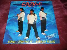 Eazy-E Eazy-Duz-It MINT SEALED VINYL RARE Record RUTHLESS VILLAIN LP EAZY E NWA