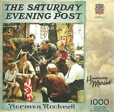 HOMECOMING MARINE BY NORMAN ROCKWELL MASTER PIECES PUZZLE