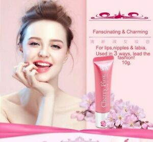 3X Bioglo Cherry Pink Lip Moisturizer Nipple Pink/ Lightening Cream 10g/ 0.35 OZ