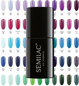 Semilac Basic UV/ LED Hybrid Nail Gel Polish 7ml