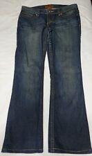 "YMI Royalty Womens Jeans Dark Wash Bootcut Size 31 Inseam 31"""