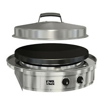 EVO 30G 10-0055 Drop In BBQ Grill Cooking Top Stir Fry Saute LP or NG Sear Roast