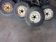 Gehl 2500 Skid Steer Loader Wheel Wheels Tires Tire Set