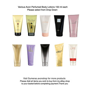 Avon Perfumed Body Lotion ~ Skin Softener ~ Fragrance Body Cream Various Scents