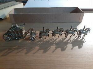 Miniature jouet ancienne HER MAJESTY'S STATE COACH dans sa boite 1935