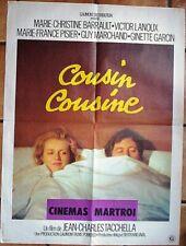 Affiche COUSIN COUSINE (M-C Barrault V. Lanoux) 80x60 cm