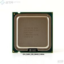 Intel Core 2 Duo E8400 3.00GHz SLB9J LGA775 Dual-Core CPU Working Pull