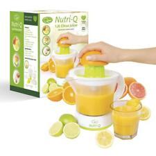Nutri-Q Electric 1.2L Quick Press Citrus Jug Juicer 40W Healthy Nutritious Diet