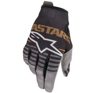 Alpinestars Radar Black Dark Grey MX Motocross Enduro Gloves