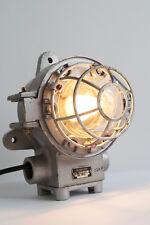 SOVIET 1986 Industrie Fabrik Lampe Industrielampe Industrial light