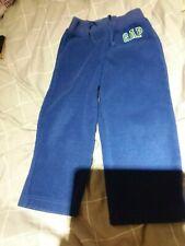 Baby Gap blue fleece trousers age 3 years