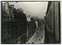 France, Paris d'antan, Guichets sur les rues de la ville  Vintage silver pr