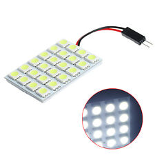 24SMD 5050 T10 BA9S LED Festoon Dome Light Panel Interior Lamp Bulb DC 12V New