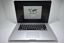 "2015 15"" Apple MacBook Pro A1398 i7 2.8GHz 16GB AMD 512GB SSD C02Q80MPG8WM"