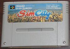 SFC. Sim City SHVC-SC (NTSC JP SNES)