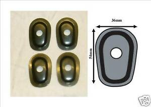 LED Indicator spacers Yamaha to fit YZFR1, FZ600, FZ1000, R6, FJR1300,  Y01
