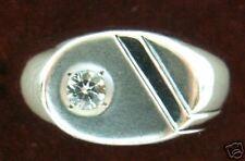 Big Beautiful 18K W Gold Diamond Massive Stylish Ring