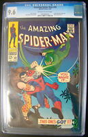 Amazing Spider-Man #49 Marvel Comics CGC 9.6 Vulture & Kraven APP
