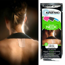 Kinesio Pre-Cut Neck Application Tape Muscle Joint Support Kinesiology FREE P&P*