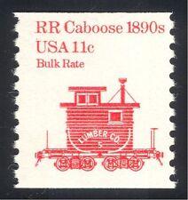 EE. UU. 1981 furgón de cola/coche/Ferrocarril/transporte ferroviario 1v (n24538)