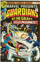 Marvel Presents 4 Marvel 1976 FN Guardians Of The Galaxy