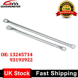 Windscreen Wiper Linkage Push Rod Arms Repair Kit For Vauxhall Vectra C Signum