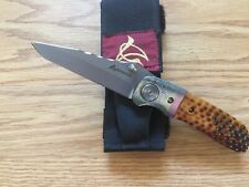 ELISHEWITZ CUSTOM  MADE KNIFE  WITH CUSTOM HANDLE