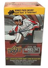 2011-12 Upper Deck Series 1 Hockey 8 Pack Blaster Box with Oversize Card