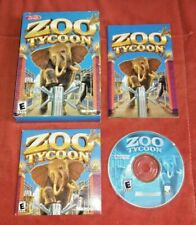Zoo Tycoon (PC, 2001) Complete w/ manual & Box *TESTED*