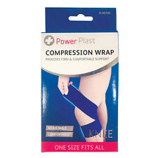 Ayuda de la rodilla Wrap Sport prenda de compresión Correa Ajustable cómodo-Nuevo