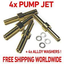 4x ACCELERATOR PUMP JET 30-35-40-45-50-55-60 WEBER DCOE + ALLOY WASHERS #76801