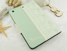 NEW Fashion Fresh Cute Flip Wallet Leather Case Cover For iPad mini Retina Gifts