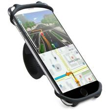 For LG Stylo 4 5 6, Q70 K51 BICYCLE MOUNT HANDLEBAR SILICONE HOLDER BIKE STRAP