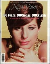 NEW YORK BARBRA STREISAND Mag Cover 1 of 8 different Yesteryear Issue 3/24/2014
